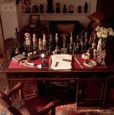 Image result for figurines on freud's desk