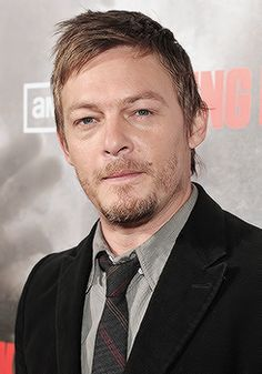 Norman Reedus arrives at the Los Angeles premiere of AMC's 'The Walking Dead' held at ArcLight Cinemas Cinerama Dome on October 26 2010 in Hollywood...