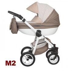 Moretti 3in1 babakocsi - M2 barna-beige mintás - Zsebi Babaáruház -  Babakocsik 64cd846674
