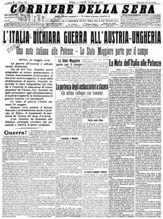 """""""Il Piave mormorava, calmo e placido, al passaggio dei primi fanti il 24 maggio."""""""