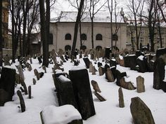 Old Jewish Cemetery and Klausen Synagogue by Little Chubby Panda, via Flickr