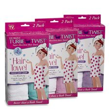 turbie twist towel