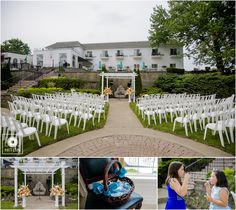 Our ceremony space is the perfect place for your outdoor wedding
