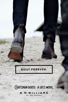 RM Williams boots they really are built to last