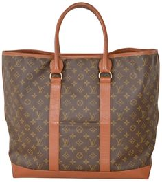 7cb7bcd287ccf3 Louis Vuitton Monogram Extra Large Jumbo Brown Travel Bag Weekend Travel Bag,  Leather Conditioner,. Tradesy