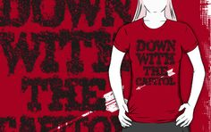 Down with the Capitol (eroded) by PEZRULEZ
