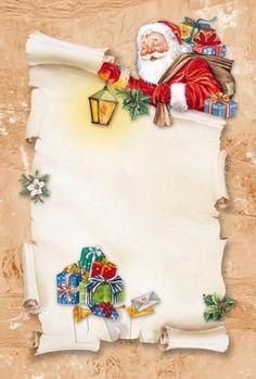 """Letter pads"": ""Santa's got your letter!"" Letter pads: Santa's got your letter! Christmas Frames, Christmas Paper, Christmas Greeting Cards, Christmas Photos, Christmas Greetings, Vintage Christmas, Christmas Time, Merry Christmas, Santa Letter Template"