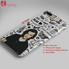 LARRY STYLINSON TATTOOS ONE DIRECTION 1D - Personalized iPhone 7 Case, iPhone 6/6S Plus, 5 5S SE, 7S Plus, Samsung Galaxy S5 S6 S7 S8 Case, and Other