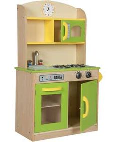 Teamson Classic Deluxe Wooden Kitchen - £149.99