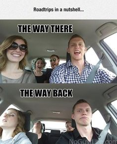 Get your laugh on to these 20 VERY Funny Road Trip Memes! Funny Relatable Memes, Funny Posts, Funniest Memes, Funny Humor, Funny Cute, Hilarious, Funny Laugh, Dankest Memes, Jokes