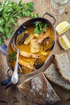 Zarzuela espagnole - The Best Greek Recipes Best Italian Recipes, Greek Recipes, Spanish Recipes, German Recipes, Tunisian Food, The Good German, Spanish Cuisine, Exotic Food, Good Food