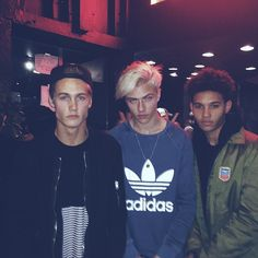 Lucky Blue Smith, Markel Williams & Neels Visser