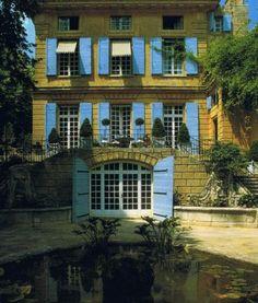 Lillian Williams home in Provence via trouvais