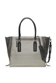 Madison Tech Bag - Black/Crème Breton Stripe Stella & Dot  #mothersday #wallet #purse   Stelladot.com/Amycarlson  #makeup #bag #stelladot #fashion #bracelet #jewelry #summer #earrings #mom #gift