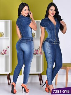 Enterizo Moda Yes Brazil Generated Description Whether you're just hanging out or dancing up the storm, these jeans for women will always bring out your inner rock-and-roll rebel. Fashionable and tren