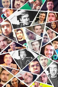 "caseyg99: "" Jacksepticeye edit! The video I used for the GIFs is here —> (x) "" SO MANY FACES!"