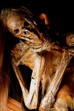 Life-size Peruvian Mummy Sideshow Gaff Oddity by ReliquaryImpressions on Etsy https://www.etsy.com/listing/213954590/life-size-peruvian-mummy-sideshow-gaff