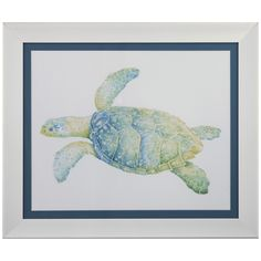 Bassett Mirror Pan Pacific Tranquil Sea Turtle II 9900-397BEC