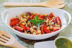 Salada especial de Grão de Bico com toque de hortelã