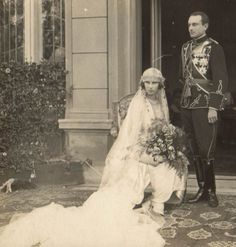 Princess Olga of Greece and Prince Paul of Yugoslavia