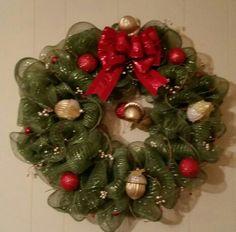 Acorn Christmas Wreath