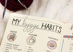 Everyone's talking about the Danish concept of Hygge! I'm working it into my journaling routine for extra an extra cozy winter.