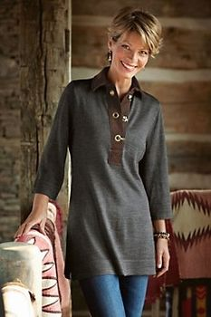 Chatsworth Tunic in Winter 2 2012   from Soft Surroundings