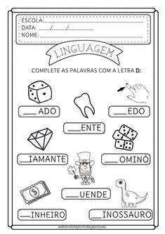 Preschool Spanish, Portuguese Lessons, Fish Coloring Page, Vintage Paper Dolls, Preschool Activities, Notebook, Bullet Journal, Teaching, Education