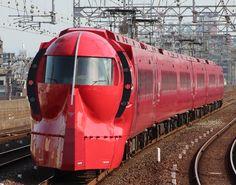 Nankai series 50000 Rapi:t to Kansai Airport Kansai Airport, Kansai International Airport, Paper Train, Railroad Photography, Rail Car, Electric Train, Train Engines, Rolling Stock, Osaka Japan