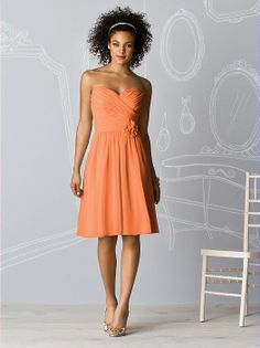 Love this bridesmaid dress and colour for the beach!!! After Six Bridesmaids Style 6609 http://www.dessy.com/dresses/bridesmaid/6609/?color=ginger&colorid=18#.Uw-YUWeYaM8