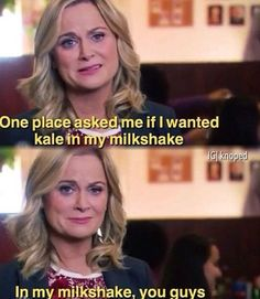 Leslie -- Parks and Recreation. Parks And Rec Memes, Parks And Recreation, Parcs And Rec, Parks Department, Plus Tv, Best Shows Ever, Best Tv, So Little Time, Movies And Tv Shows