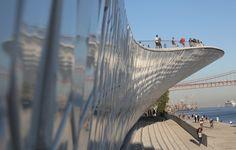 Visita guiada ao MAAT, um museu da Lisboa 2.0