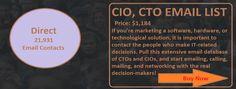 CIO CTO EMAIL LIST | Ceo Email List