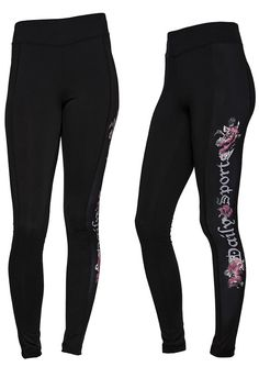 Quick dry. Single Jersey. Print on side. Mid-rise waist. Regular fit. Chakra Pants #Exercise #Workout #DailySports
