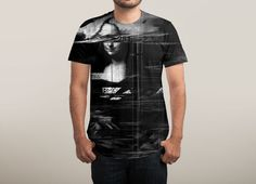 """Mona Lisa Glitch"" by nicebleed on men's t-shirts 
