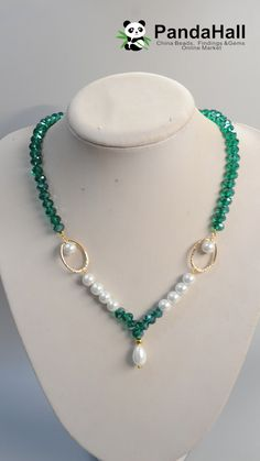 Diy necklace 39688040453911020 - Simple Pearl Necklace Source by pandahallcom Wire Jewelry Designs, Beaded Jewelry Patterns, Diy Necklace Patterns, Handmade Pearl Jewelry, Handmade Necklaces, Bead Jewellery, Fashion Jewelry Necklaces, Pearl Necklaces, Diy Jewelry Necklace