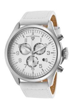 Swiss Legend Men's Chronograph Watch by SWI Group on @HauteLook