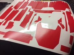 When you have a lovely partner that owns a plotter, skinning your Mavic becomes a lot easier, and you can basically make everything you want.  I have made it nice matte red, because I like matte, and the file I used was not tested before, so it was also to test if the file was correct.   #cameo3 #customskin #cut #DIY #dji #DJIMavic #djimavicpro #Drone #drones #mavic #mavicpro #paste #plotter #pro #scan #silhouette #silhouettecameo #skin #sticker #wrap