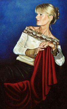 Portret120x140 Olieverf op linnen  juliette swillens