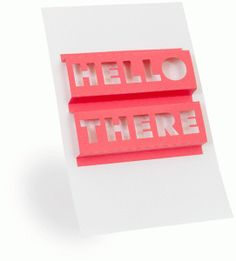 Silhouette Design Store - View Design #75079: 3d word art- hello there