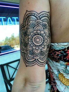 mandala peony dotwork tattoo peonies arm sleeve blackwork. Black Bedroom Furniture Sets. Home Design Ideas