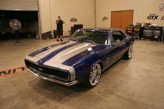 Custom 67 Camaro by Chip Foose - Love that guys cars!