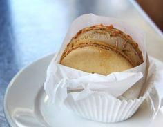 Salted Caramel Ice Cream Sandwich