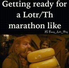 Gotta bring lots of cheese! haha