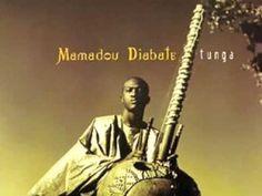 Mamadou Diabate, a Kora player originally from Kita, Mali, playing - Dounuya.