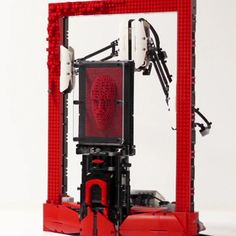 Industrial designer Arthur Sacek has an unusual blend of specialities: Product design, LEGO, computer graphics and digital fabrication. A current project of his, the Lego Pinpoint Animator, is a good example of how this cocktail of skills manifests itself in the form of an innovative tool. Sacek's device is