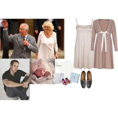 Being Visited By Her Father-in-law & Camilla After William Puts Lexi To Sleep by madeleine-duchessofcam on Polyvore featuring Hanro, J.Crew and Royal Baby