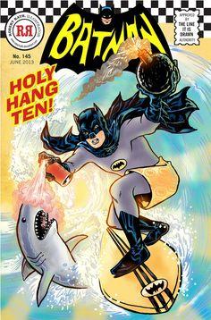 batman and robin…surfing! - Robert Rath