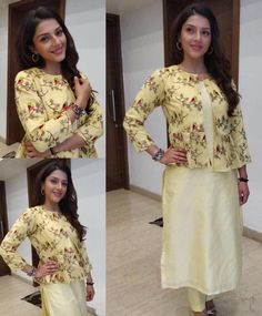 Hunting for an ideal shrugs for clothes materials? to find distinct and handmade. shrugs for dresses cover up Dress Neck Designs, Kurti Neck Designs, Blouse Designs, Indian Designer Outfits, Designer Dresses, Frocks And Gowns, Shrug For Dresses, Classy Outfits, Kid Outfits