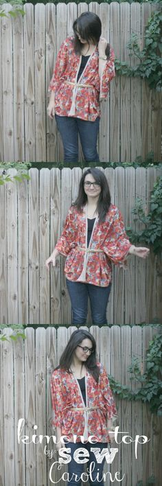 How To: Sew your own Kimono Top